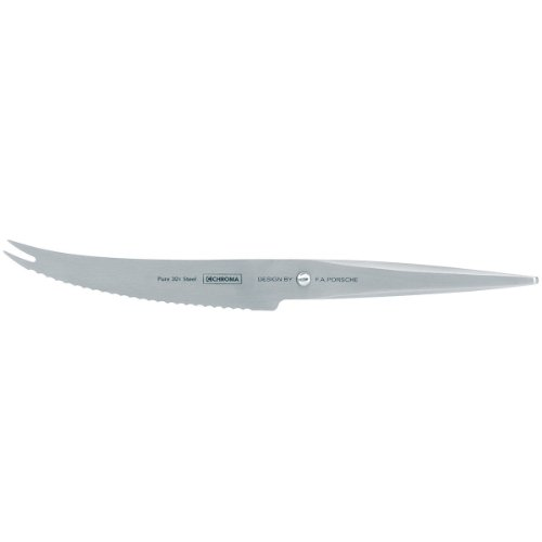 Chroma 5019311910965 Type 301 Designed by F.A. Porsche 5 3/4 Inch Tomato Knife, one size, silver
