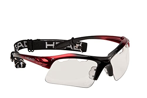 HEAD Racquetball Goggles - Raptor Anti Fog & Scratch Resistant Protective Eyewear w/UV Protection,...