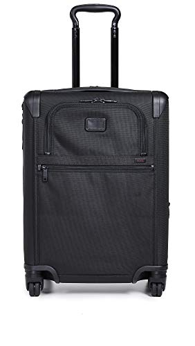 TUMI - Alpha 2 Continental Expandable 4 Wheeled Carry-On Luggage - 22 Inch Rolling Suitcase for Men...