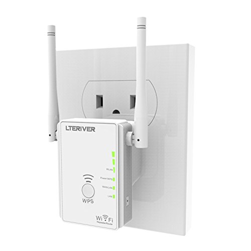 LTERIVER 802.11N 300Mbps WiFi Repeater WiFi Range Extender WiFi Signal Booster Mini Router Wireless...