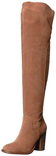 KELSI DAGGER BROOKLYN Women's Logan Over The Knee Boot, Chestnut, 9 Medium US