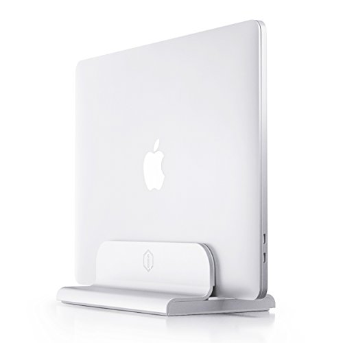 iQunix Edin Adjustable Vertical Laptop Stand for MacBook Pro/Air, Microsoft Surface/Dell XPS/HP |...