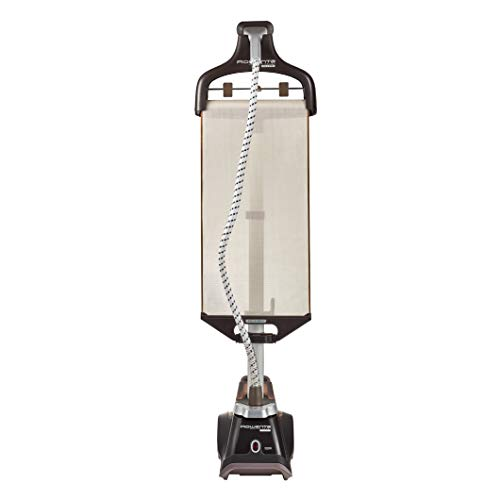 Rowenta Master Valet IS6300 Professional Grade, Clothes Garment Steamer, Built-in Hanger, Brown