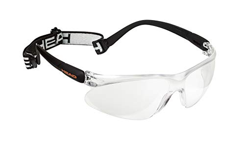HEAD Racquetball Goggles - Impulse Anti Fog & Scratch Resistant Protective Eyewear w/Clip On...