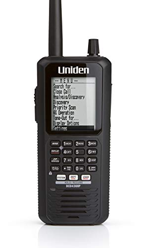 Uniden BCD436HP HomePatrol Series Digital Handheld Scanner. TrunkTracker V, Simple Programming,...