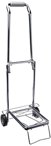 Sparco Compact Luggage Cart, 150 lbs, Capacity, Open 14-3/4 x 13-3/4 x 35 Inches, CE (SPR01753)