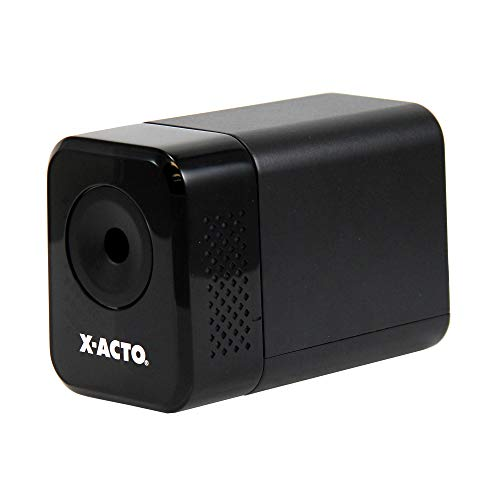 X-ACTO Electric Pencil Sharpener | XLR Heavy Duty Electric Pencil Sharpener, Quiet Motor, Pencil...