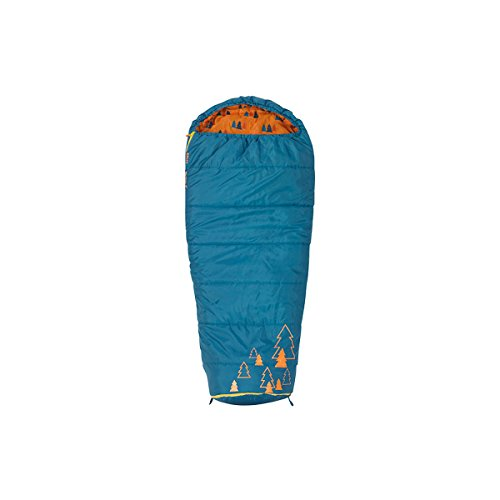 Kelty Big Dipper 30 Degree Kids Sleeping Bag - Blue, Children's Sleeping Bag Ideal for Camping,...