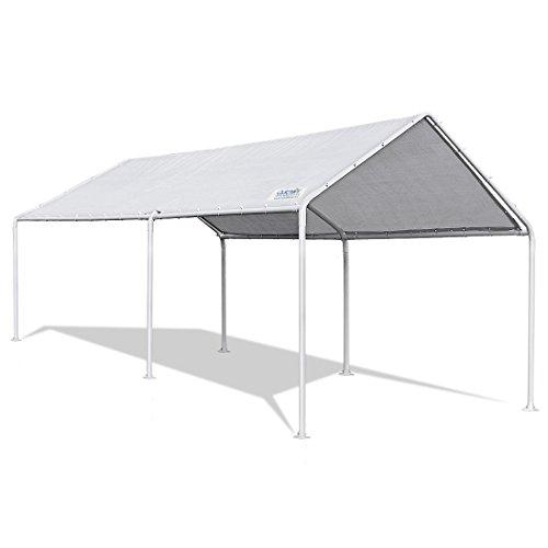 Quictent 10'X20' Heavy Duty Carport Car Canopy Car Shelter Canopy Boat Shelter