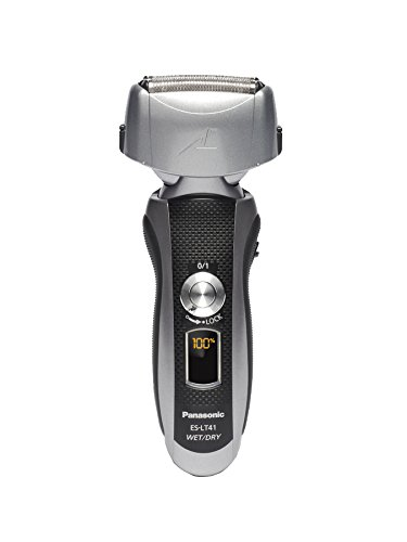 Panasonic ES-LT41-K Arc3 Wet Dry Electric Razor, Men's 3-Blade Cordless with Flexible Pivoting Head,...