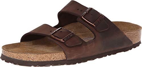 Birkenstock Arizona Oiled Leather Habana Sandals