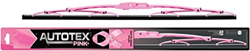 AutoTex PINK Plus AP-P22 Metal Windshield Wiper Blade with Pink Frame - 22' (Pack of 1)