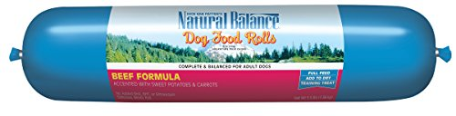 Natural Balance Dog Food Roll, Beef Formula, 3.5-Pound
