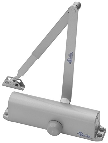Yale 1101BF x 689 Door Closers, Aluminum Body, 689 Painted Aluminum Finish, Door Sizes 1 to 4
