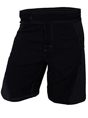Epic MMA Gear WOD Shorts Agility 2.0 (Black/Black, 34)