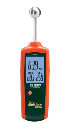 EXTECH MO257 - PINLESS MOISTURE METER with .78-1.6 inch depth.