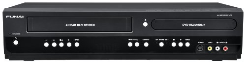 Funai Combination VCR and DVD Recorder (ZV427FX4)