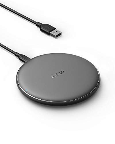 Anker Wireless Charger, PowerWave Pad Qi-Certified 10W Max for iPhone 12, 12 Mini, 12 Pro Max, SE...