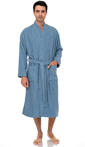 TowelSelections Men's Robe, Turkish Cotton Terry Kimono Bathrobe X-Large/XX-Large Ginger Spice