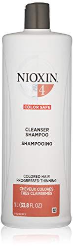 Nioxin Cleanser Shampoo, Hair Care System 4,  33.8 Fl Oz