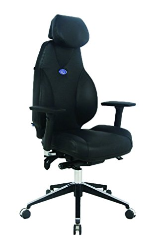 VIVA OFFICE Hottest High Back Ergonomic Multi-function Luxury Leather Office Chair with Top Leather...