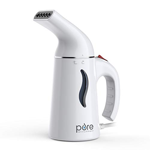 Pure Enrichment PureSteam Portable Fabric Steamer- Fast-Heating Clothes Steamer with Ergonomic...