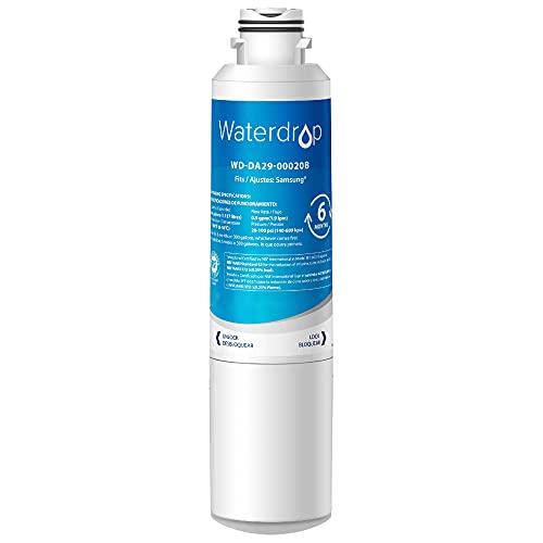 Waterdrop DA29-00020B Refrigerator Water Filter, Replacement for Samsung HAF-CIN/EXP, 1 Pack