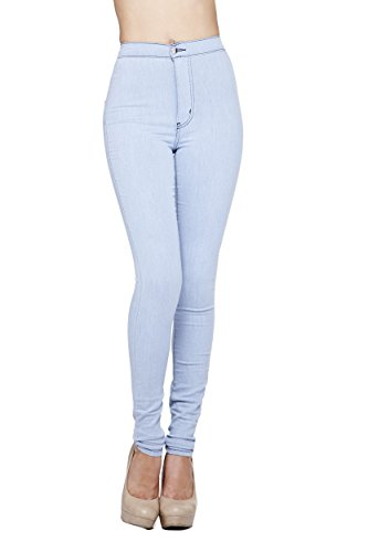 High-Waisted Ankle Length Jeans