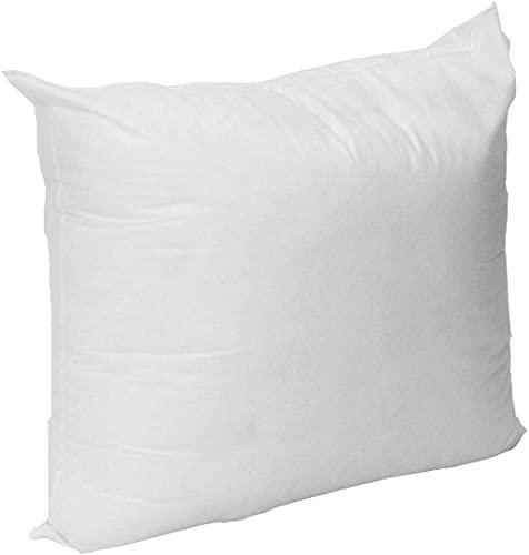 Mybecca 18 X 18 Sham Stuffer Square Hypoallergenic Pillow Insert Polyester, White