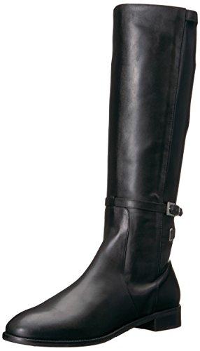 Charles David Women's Royce Equestrian Boot Black 38.5 Medium EU (8,8.5,9 US)