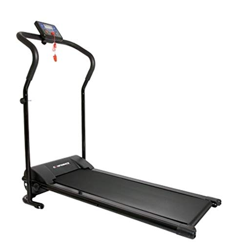Confidence Power Plus 600W Motorized Electric Folding Treadmill Running Machine (Black)