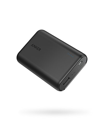 Anker PowerCore 10000 Portable Charger, One of The Smallest and Lightest 10000mAh Power Bank,...