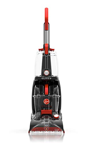 Hoover Power Scrub Elite Pet Upright Carpet Cleaner and Shampooer, Lightweight Machine, Red,...