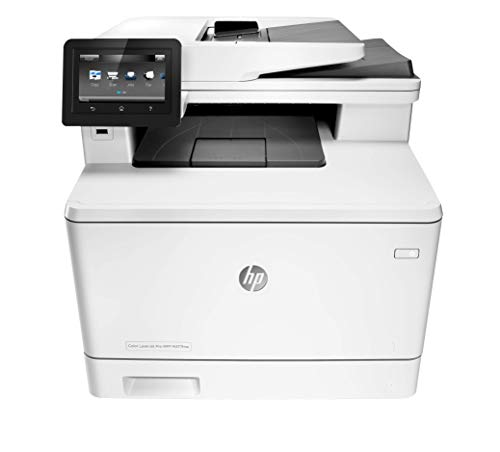 HP LaserJet Pro All-in-One Color Printer, M477FNW - (CF377A) model
