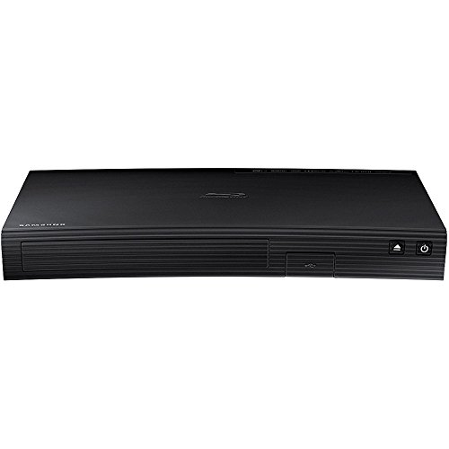 Samsung Blu-ray DVD Disc Player with Built-in Wi-Fi 1080p & Full HD Upconversion, Plays Blu-ray...