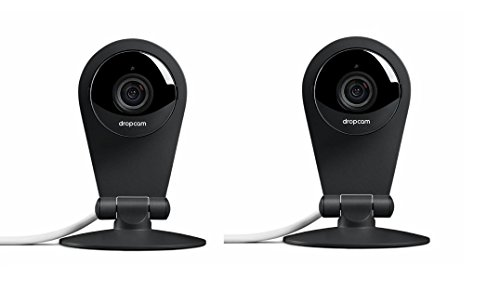 2 Pack Dropcam Pro Wi-Fi Wireless High Definition Video Monitoring Security Camera