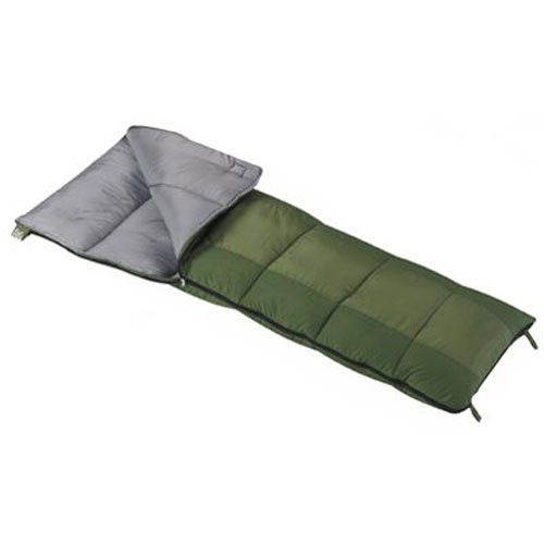 Wenzel Boy's Summer Camp Sleeping Bag - Green, 49661