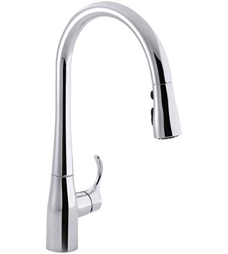 KOHLER 596-CP Simplice Kitchen Faucet, One Size, Polished Chrome
