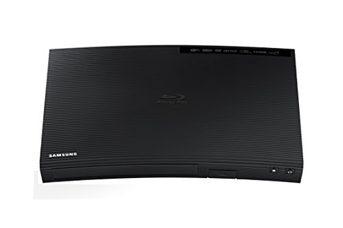 Samsung BD-J5700 Curved Blu-ray Player with Wi-Fi (2015 Model)
