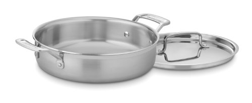Cuisinart MultiClad Pro Stainless 3-Quart Casserole with Cover
