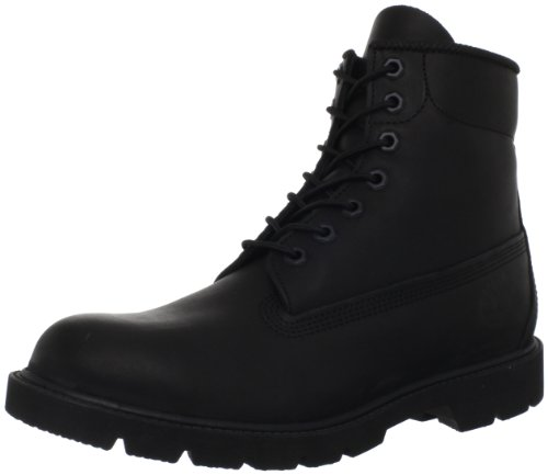 Timberland Men's Six-Inch Basic Boot,Black,7.5 M US