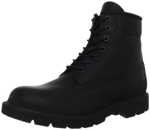 Timberland Men's Six-Inch Basic Boot,Black,7.5 M US