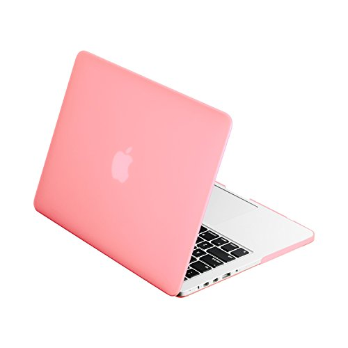 TOP CASE - Classic Series Rubberized Hard Case Compatible MacBook Pro 13.3' (13' Diagonally) with...