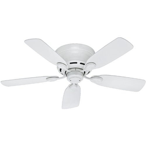 Hunter Fan Company Hunter 51059 Transitional 42``Ceiling Fan from Low Profile IV collection in White...