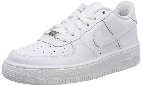 Nike Mens Air Force 1 Low Sneaker, Adult, White/White, 8.5 M US
