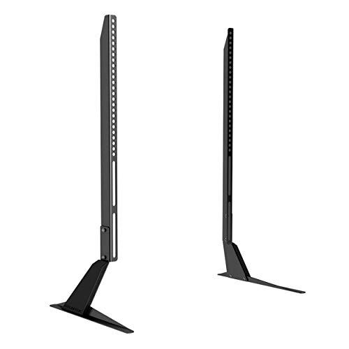 Atlantic Table Top TV Stand - Universal Adjustable Table Top TV Stand, Adjust Height, Base Mount for...
