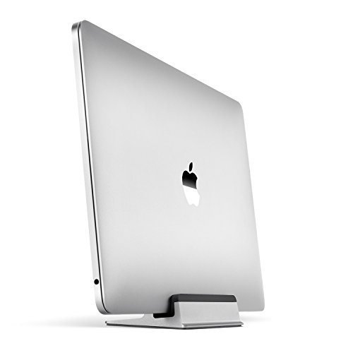 UPPERCASE KRADL Small Profile Space Saving Aluminum Vertical Stand for 2016-2020 MacBook Pro 13' and...
