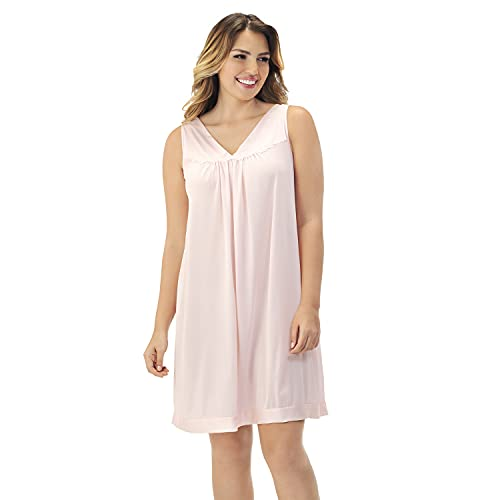 Exquisite Form Womens Colortura Short Gown, Pink Champagne, Small