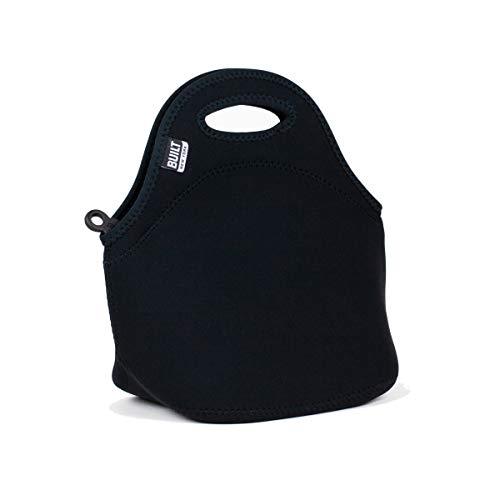 BUILT LB31-BLK Gourmet Getaway Soft Neoprene Lunch Tote Bag-Lightweight, Insulated and Reusable,...