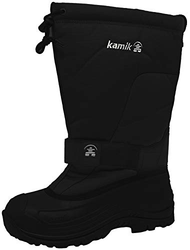 Kamik Men's Greenbay 4 Cold Weather Boot,Black,9 M US